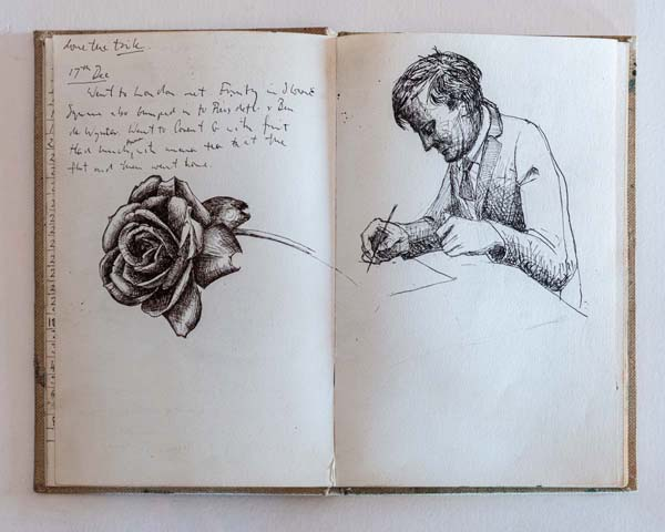 A Life in Sketchbooks