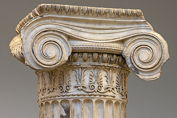 Erichtheion Capital at the British Museum