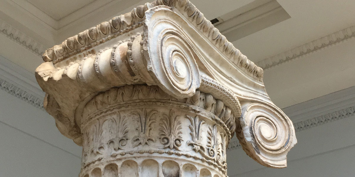 Erichtheion capital from British Museum