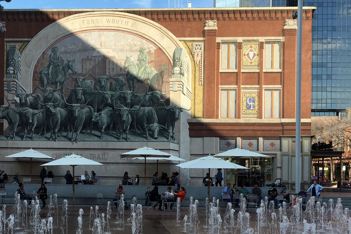 Mural at Sundance Square