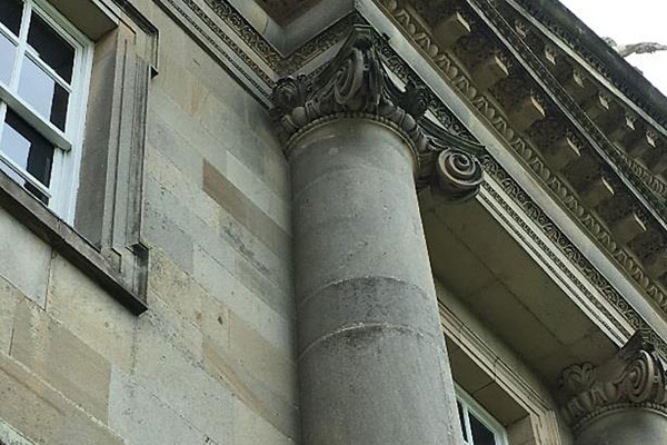 Fig.4: Scamozzi Ionic at Houghton Hall