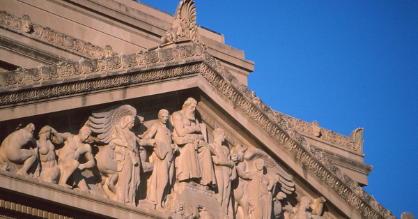 Detail of National Archives Pediment