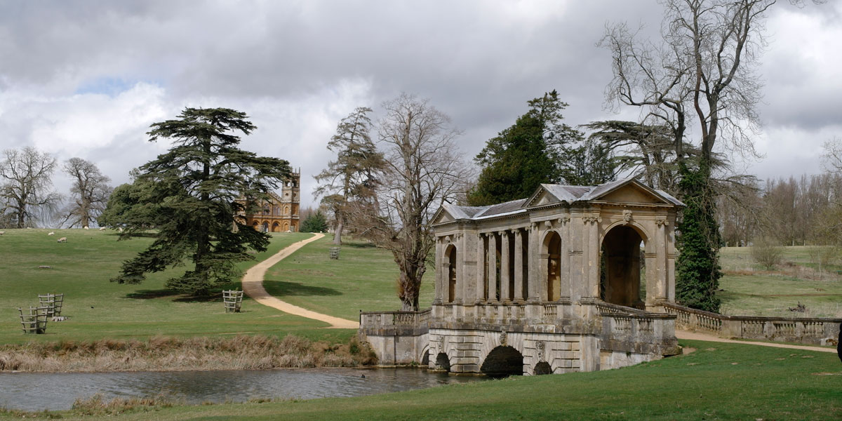 Palladian Bridge at Stowe