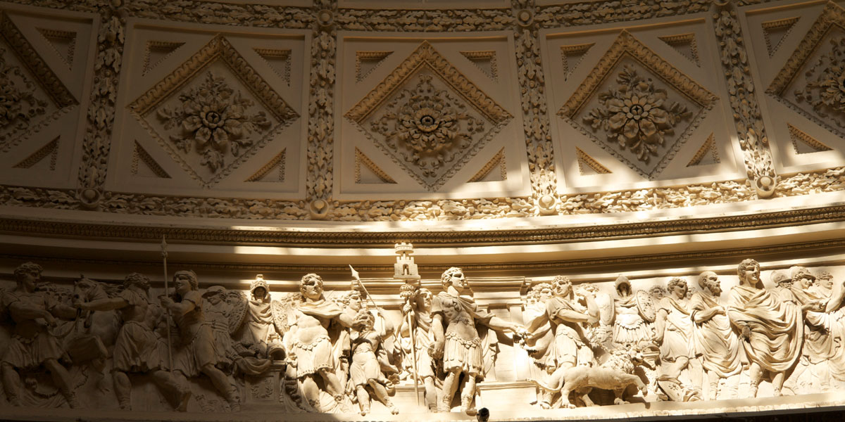 Marble hall Frieze