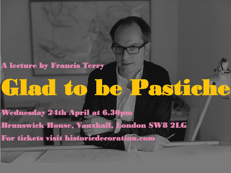 Glad to be Pastiche Lecture