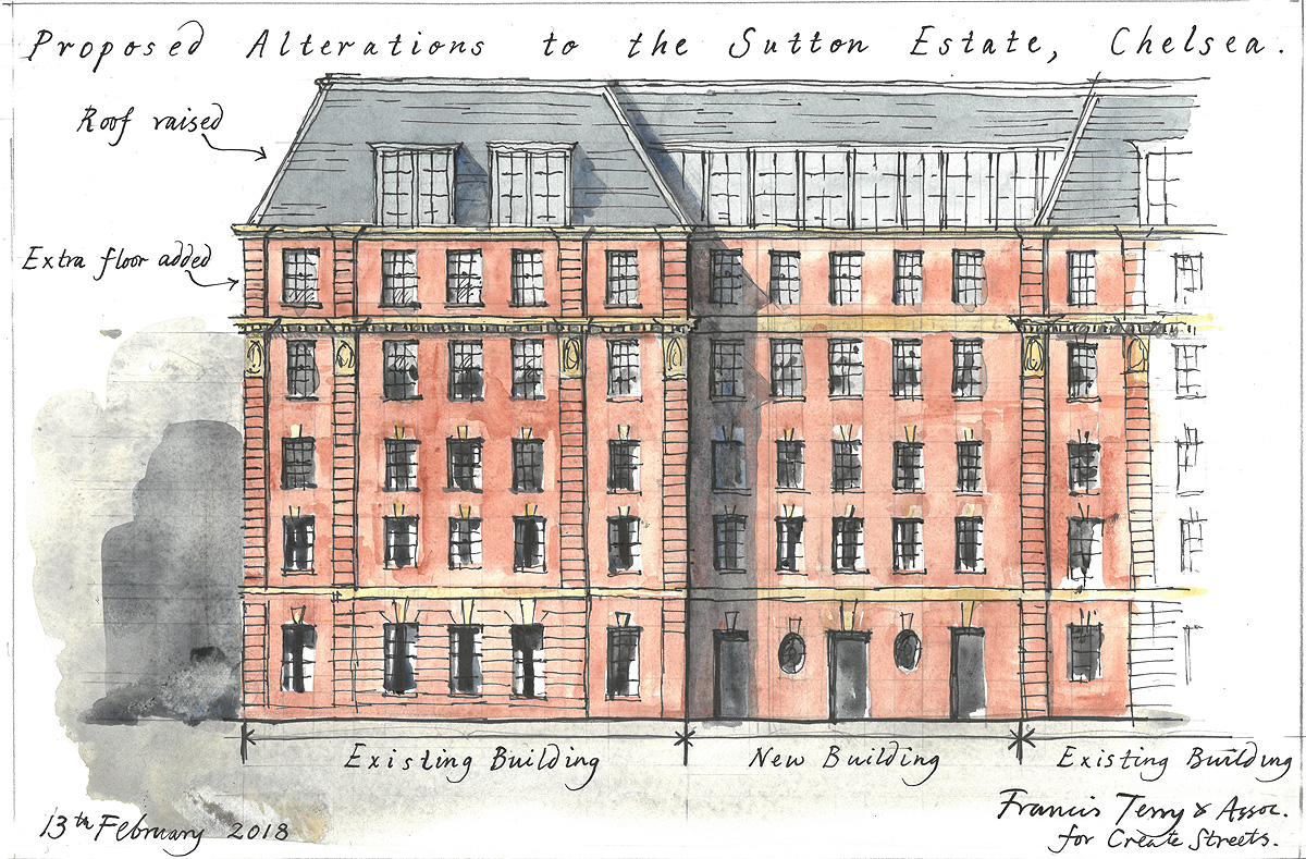 Our involvement with Saving the Sutton Estate, Chelsea