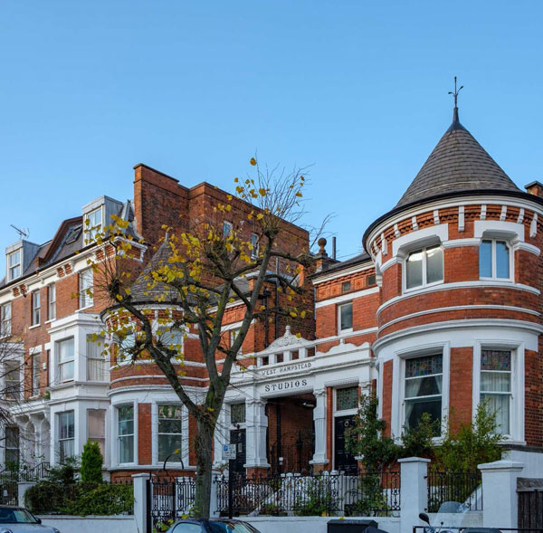 Architectural character of West Hampstead.