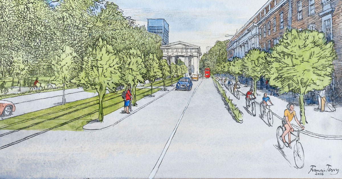 Euston Road: Can an Arch a Boulevard Make?
