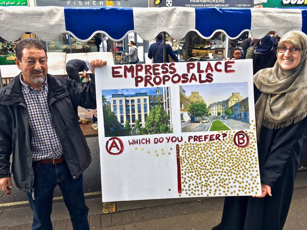 Local residents overwhelming want to improve Empress Place not knock it down.