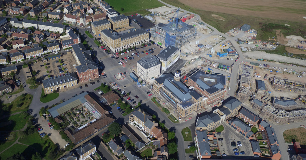 Queen Mother Square, Poundbury, Dorset