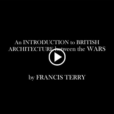 An Introduction to British Architecture between the Wars